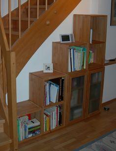 Holzregal, Bücherregal, Regalsystem