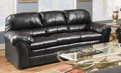 Riverside Vintage Blended Leather Sofa Grand Home Furnishings 0216425