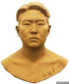Drawing Practice, Sculpture Art, Korean, Statue, Portrait, Drawings, Face, Role Models, Sculptures