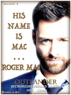 25 Days of #Outlander – Day 14: RICHARD RANKIN | Candida's Musings