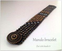 Instant download-Mando beaded bracelet tutorial