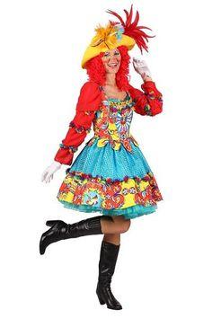 De 10+ beste afbeeldingen van Clown Carnavalskleding Dames