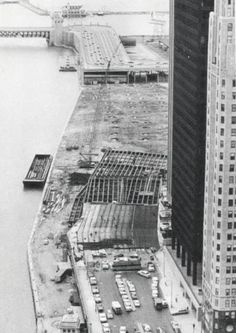 Connecting Wacker Dr to LSD, c.1974, Chicago.