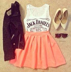 omg love the skirt