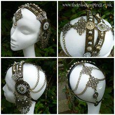 Zenobia Headdress by The Tribal Temptress