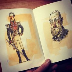 steve simpson sketchbook illustrator illustration