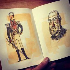 steve simpson sketchbook illustrator illustration