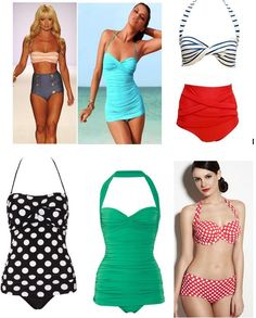 obsessed with vintage swimwear! I want one!!!!