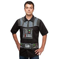 I Am Vader Short Sleeve Button-Up - Exclusive