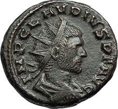CLAUDIUS II Gothicus Authentic Ancient 268AD Roman Coin Mediolanum FIDES i67284