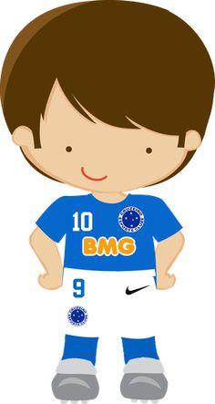 Futebol - Minolo us Soccer Theme, Soccer Party, Sports Day, Cute Clipart, Football Pictures, Cricut Creations, Cartoon Kids, Baby Girl Newborn, Felt Crafts