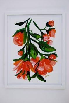 Kindness - Framed Original Acrylic Painting