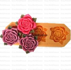 Hey, I found this really awesome Etsy listing at https://www.etsy.com/listing/157168586/roses-flower-flexible-silicone-mold