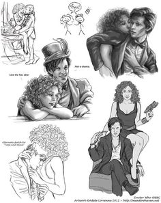 Gorgeous 11 & River fanart...no I didn't draw this nor do I claim this as my own.  It's just soo perfect!