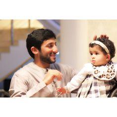 Juma DJM y su hija, Nouf JDM, 01/2015. Vía: mrs_almaktoum