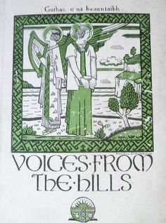 Voices from the Hills. (Guthan o na Beanntaibh). A Memoir of the Gaelic Rally, published Front cover by Ancell Stronach Scottish Gaelic, Glasgow School Of Art, Mural Painting, Dundee, Memoirs, The Voice, Rally, Shelf, Cover