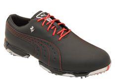 NEW Mens Puma NeoLux FERRARI Golf Shoes Black/Rosso Corsa Size 12 M - Ret $300 | eBay
