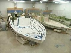 How It's Made Fibreglass Boats