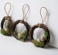 Zobacz zdjęcie Do zrobienia! Chrobotek reniferowy, gałęzie, sznurek, jajka i klej na gorąco w pełnej rozdzielczości