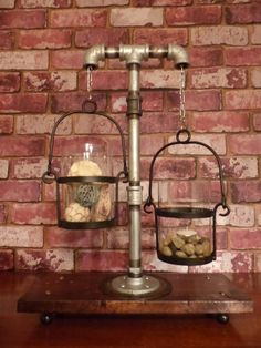 Shop for industrial on Etsy, the place to express your creativity through the buying and selling of handmade and vintage goods. Pipe Lighting, Industrial Pipe, Candelabra, Dried Flowers, Lamps, Candle Holders, Chandelier, Ceiling Lights, Candles
