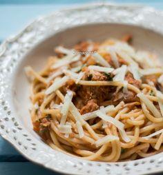 Obiad w 20 minut- spaghetti z tuńczykiem