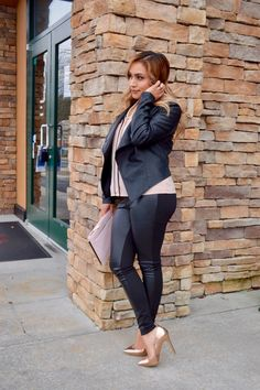 Rose gold   faux leather – Berenis Stylish