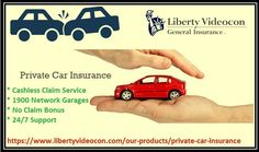 Liberty Videocon offers car insurance with hassle free process to customers that can be affordable and reliable. They also provide roadside assistance and cashless network garage facility. Buy & renew your car policy online at https://www.libertyvideocon.com/our-products/private-car-insurance or call us at toll free number: 1800-266-5844 for further query.