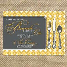 pop circles wedding stationary pinterest brunch invitations