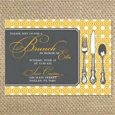 1000+ images about Wedding brunch invite on Pinterest ...