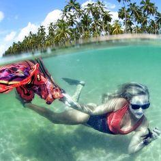 Para inaugurar a nossa nova coluna Destino, vamos dar uma dica de viagem muito legal.  Praia dos Carneiros em Pernambuco. Alguém já foi?  É uma praia