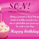 Birthday Wishes For Son Messages Greetings And Wishes 88147 in post at April 2020 pm Mothers Love Quotes, Son Quotes, Mother Quotes, Quotes For Kids, Birthday Wishes For Son, Mother Birthday, Happy Birthday Quotes, Never Say Goodbye, First Love