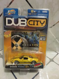 Jada Toys 12002 Dub City Die Cast Vehicle for sale online Metals Die Cast, Jada Toys, Ford News, Ford Gt, Metal Casting, Muscle Cars, Cars For Sale, Diecast, Lost