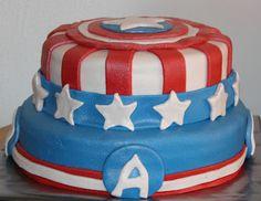 Captain Amerika Cake