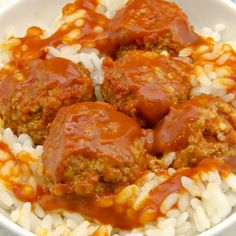 This recipe for meatball sauce goes well on rice, pasta or even a sandwich. Meatball Sauce Recipe from Grandmothers Kitchen. Sauce Recipes, Fish Recipes, Meat Recipes, Pasta Recipes, Real Food Recipes, Cooking Recipes, Beef Dishes, Pasta Dishes, Rice Pasta
