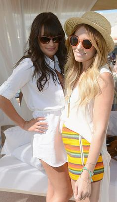 Coachella Style- Lea Michele & Lauren Conrad, literally my two favorite people together