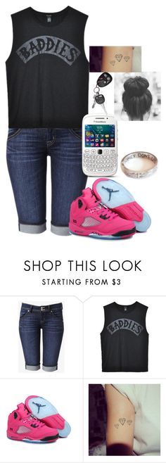 """""""Untitled #295"""" by youknowwhatimsaying ❤ liked on Polyvore featuring Hudson Jeans and Ksubi"""