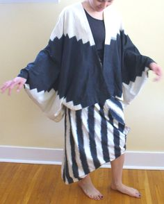 Vintage 1980's Issey Miyake Skirt & Top by TheOldBagOnline on Etsy, $425.00