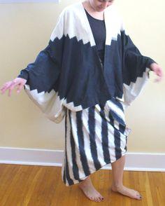 Vintage 1980's Issey Miyake Skirt & Top by TheOldBagOnline on Etsy, $425.00