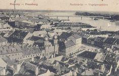 Bratislava, Beautiful Buildings, Paris Skyline, Black And White, City, Places, Travel, Times, Historia