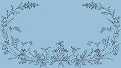 Kunsthandwerkliche Motive - - Embroidery patterns V - Hand Embroidery Patterns, Embroidery Designs, Artisanal, Blackwork, Wild Flowers, Vines, Needlework, Floral Design, Delicate