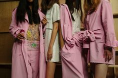 Youth and pop culture provocateurs since Fearless fashion, music, art, film, politics and ideas from today's bleeding edge. Audrey Hepburn Style, Comme Des Garcons, Chor, Bubblegum Pink, Ss16, Spring Summer Fashion, What To Wear, Ready To Wear, Fashion Looks