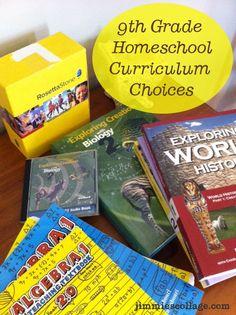 Ninth Grade Curriculum Plan
