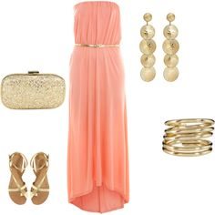 1000 images about colours coral aqua gold on for Jewelry to wear with coral dress
