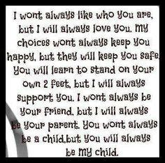 Always my child~