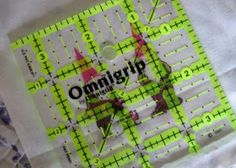 """Supplies     fabric scraps at least 3.5"""" square  Backing fabric- piece of fabric 18' x 14""""  Batting- 18"""" x 14""""  fat quarter to make ow..."""