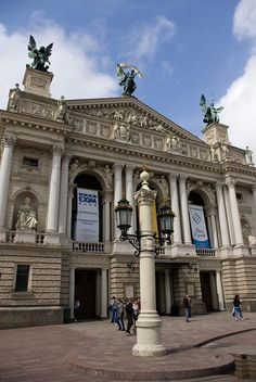 Lviv Opera House by chrisuebe, via Flickr