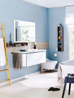 So wird Ihr Badezimmer zur Komfortzone: Frische Farben, innovative Möbel und ganz viel Stauraum entzücken in unserer neuen Wohlfühloase.