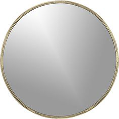 tork brass dripping mirror in mirrors | CB2 use three in entryway?
