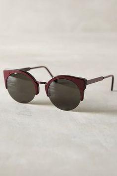 Super Lucia Francis Sunglasses Plum One Size Eyewear  #anthroregistry