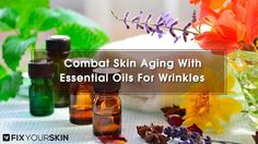 Are you looking for the Best Essential Oils for Wrinkles? We give you the top essential oils for wrinkles for younger and unblemished skin.Growing older is inevitable. The aging process is irreversible and brings with it some significant changes to the body. Some of the easily notable changes that occur due to aging include the gradual loss of skin elasticity, which leads to the emergence of skin wrinkles. #EssentialOils #Oils #Wrinkles #Aging #Skincare #Beauty #FixYourSkin